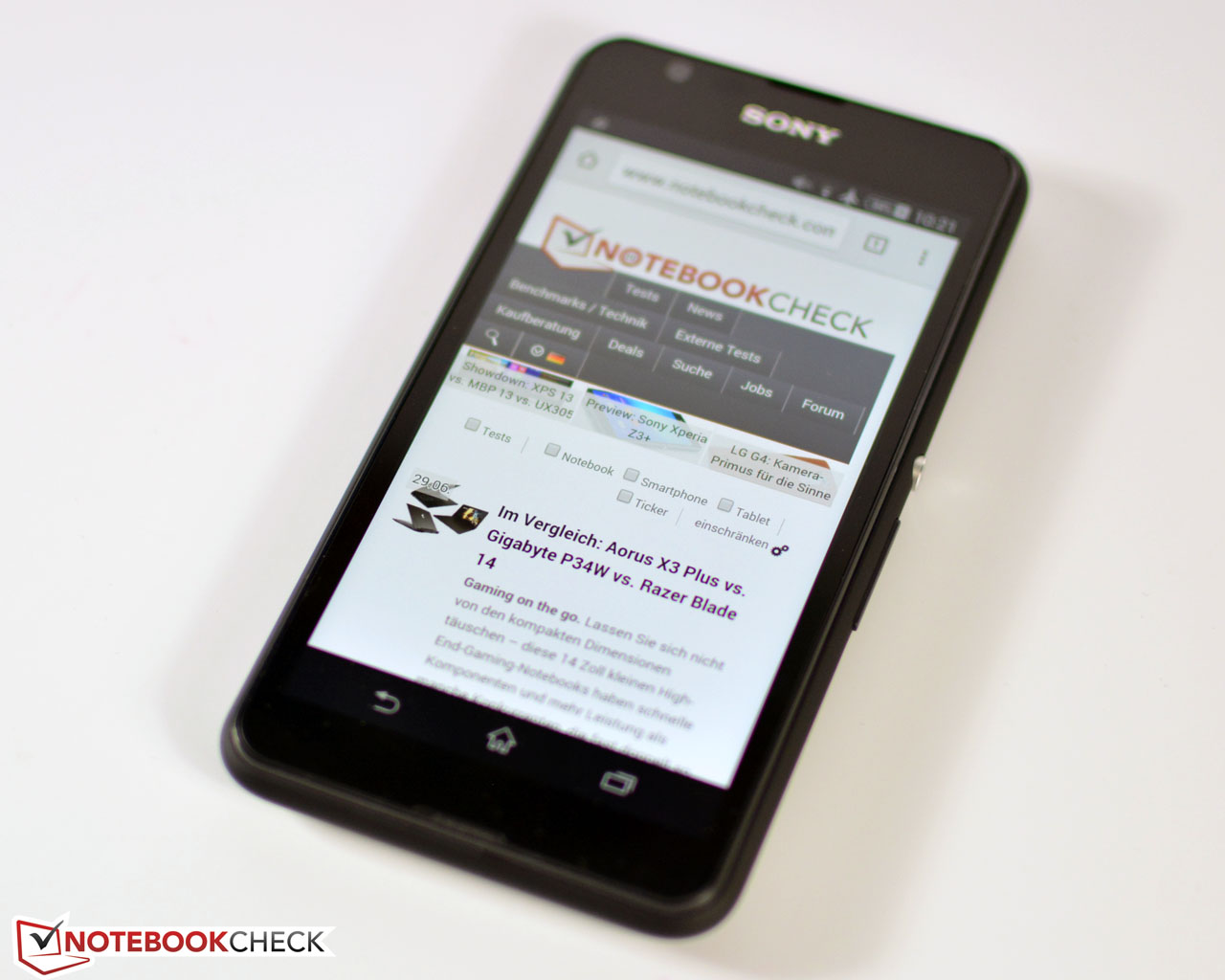 Sony Xperia E4g Smartphone Review