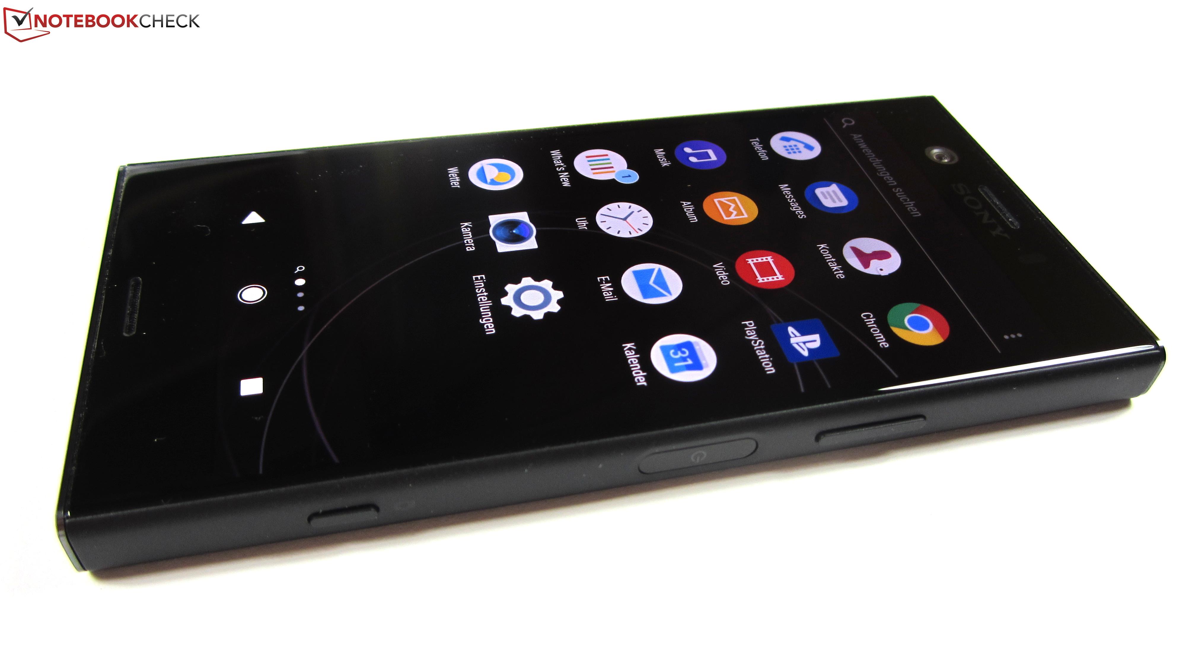 sneakers for cheap 2ba38 88cad Sony Xperia XZ1 Compact Smartphone Review - NotebookCheck.net Reviews