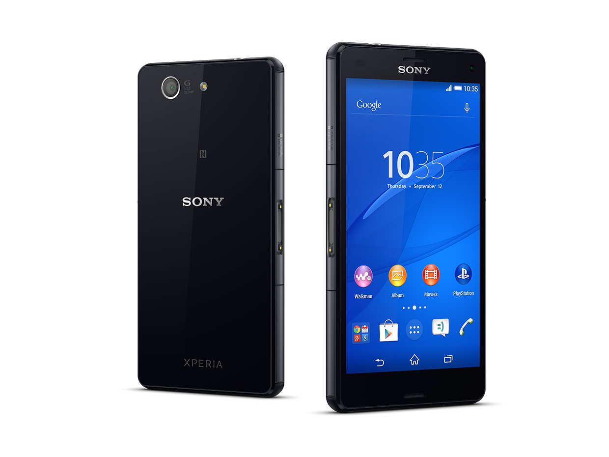 sony xperia compact test