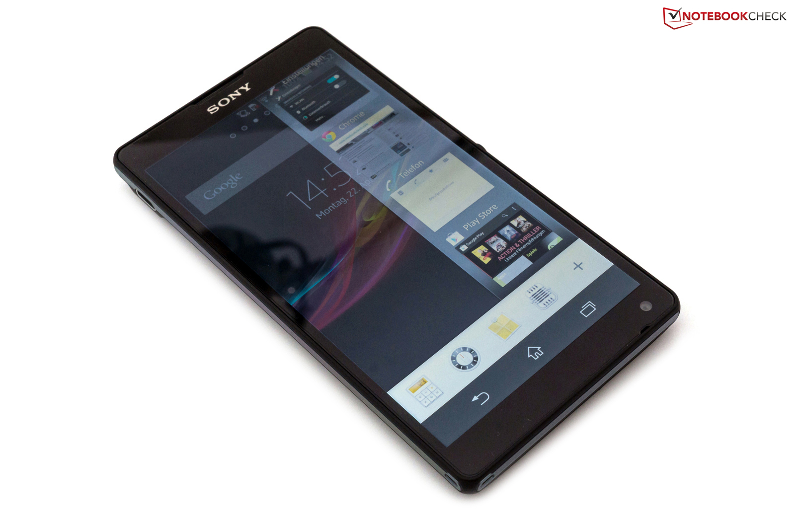 Review Sony Xperia Zl Smartphone Reviews Nokia Asha 310 Dual Sim Resmi White We Liked The Widgets In Multi Tasking Menu A Lot