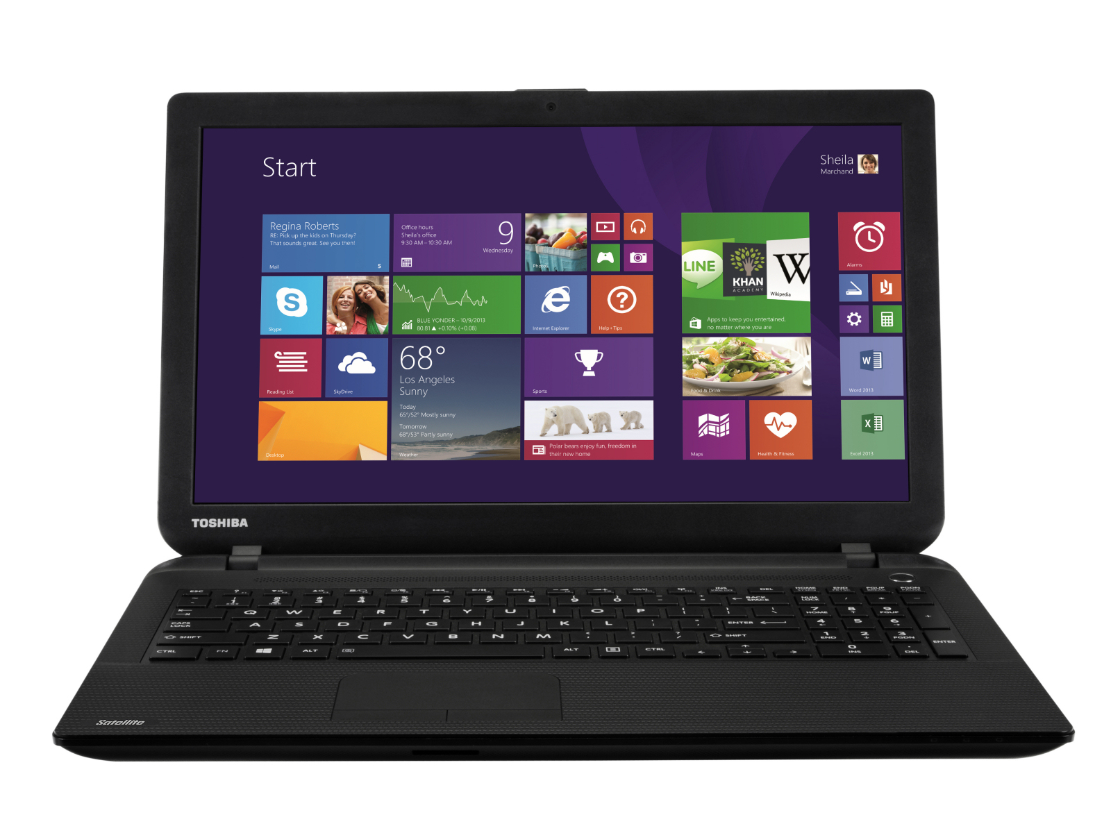In Review Toshiba Satellite C50D B 125 Test model courtesy of notebooksbilliger