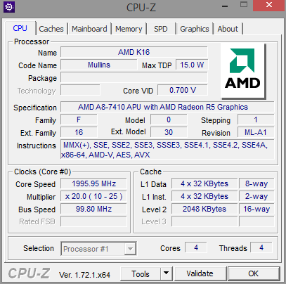 Analysis and Benchmarks of the AMD Carrizo-L Notebook