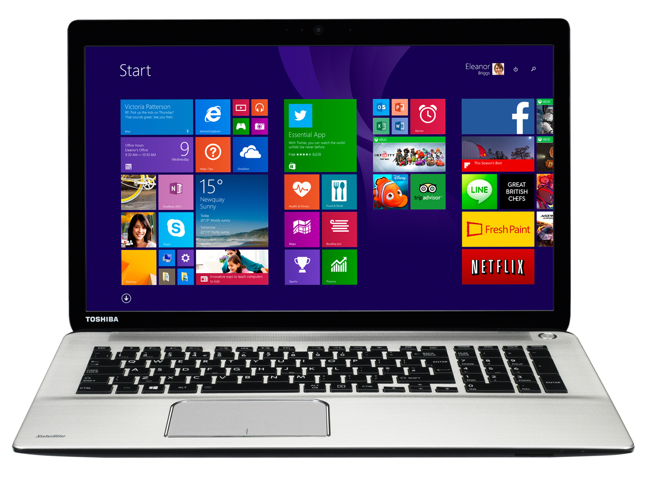 Toshiba Satellite P70-B Windows 8 X64
