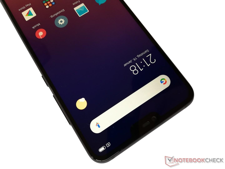 Xiaomi Mi 8 Lite Smartphone Review - NotebookCheck net Reviews