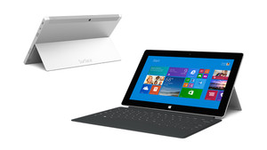 Surface 2 now features a silver magnesium body and is available in 32GB and 64GB configurations. Starting at US$499, Surface is powered by an NVIDIA Tegra 4 processor, making apps run faster and smoother and increasing battery life to up to 10 hours.