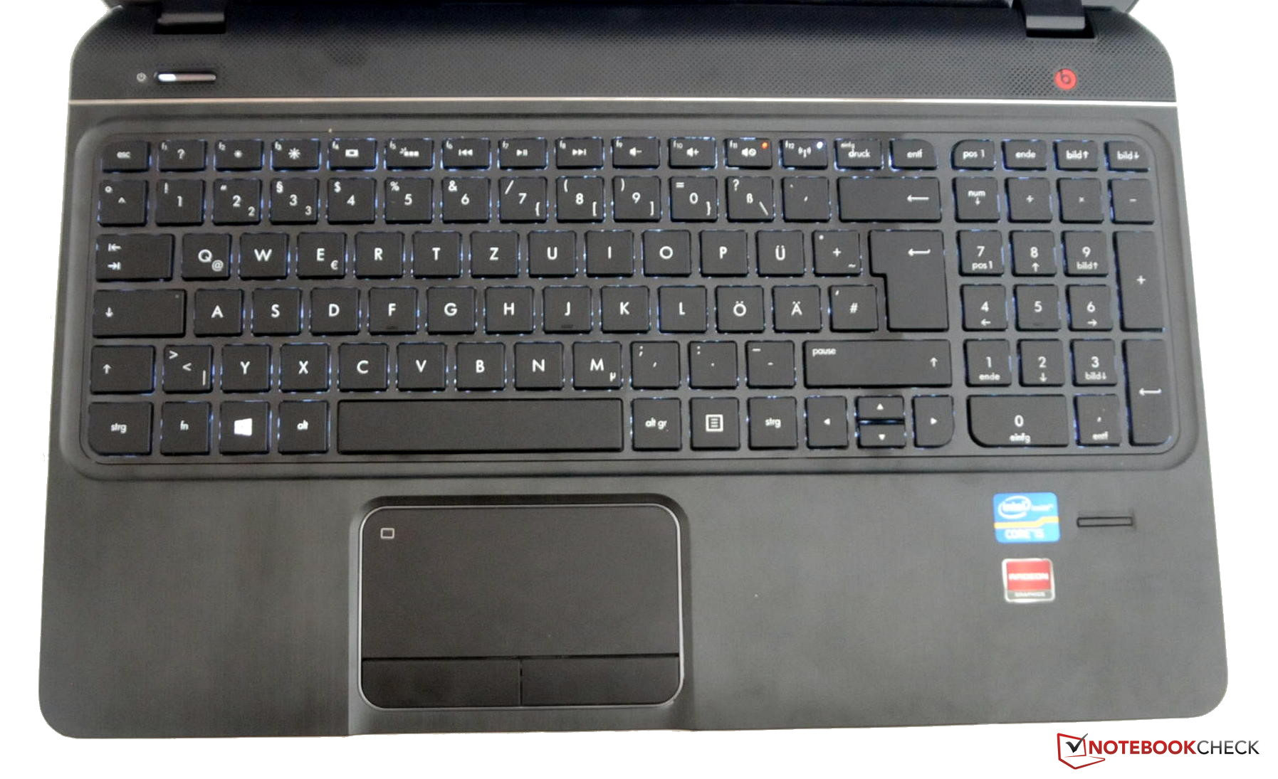 Review HP Envy m6-1101sg Notebook - NotebookCheck net Reviews