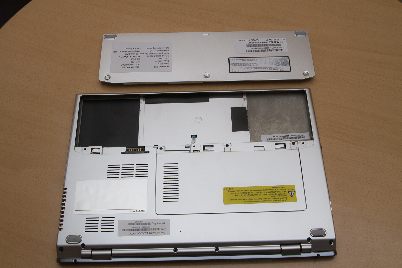 Review Sony Vaio Svt1311m1es Ultrabook Notebookcheck Net
