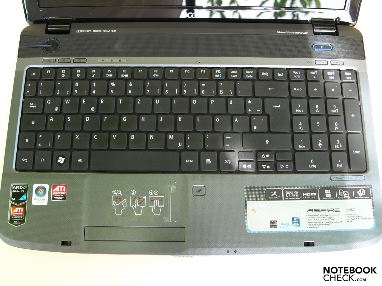 Drivers: Acer Aspire 5536 Touchpad