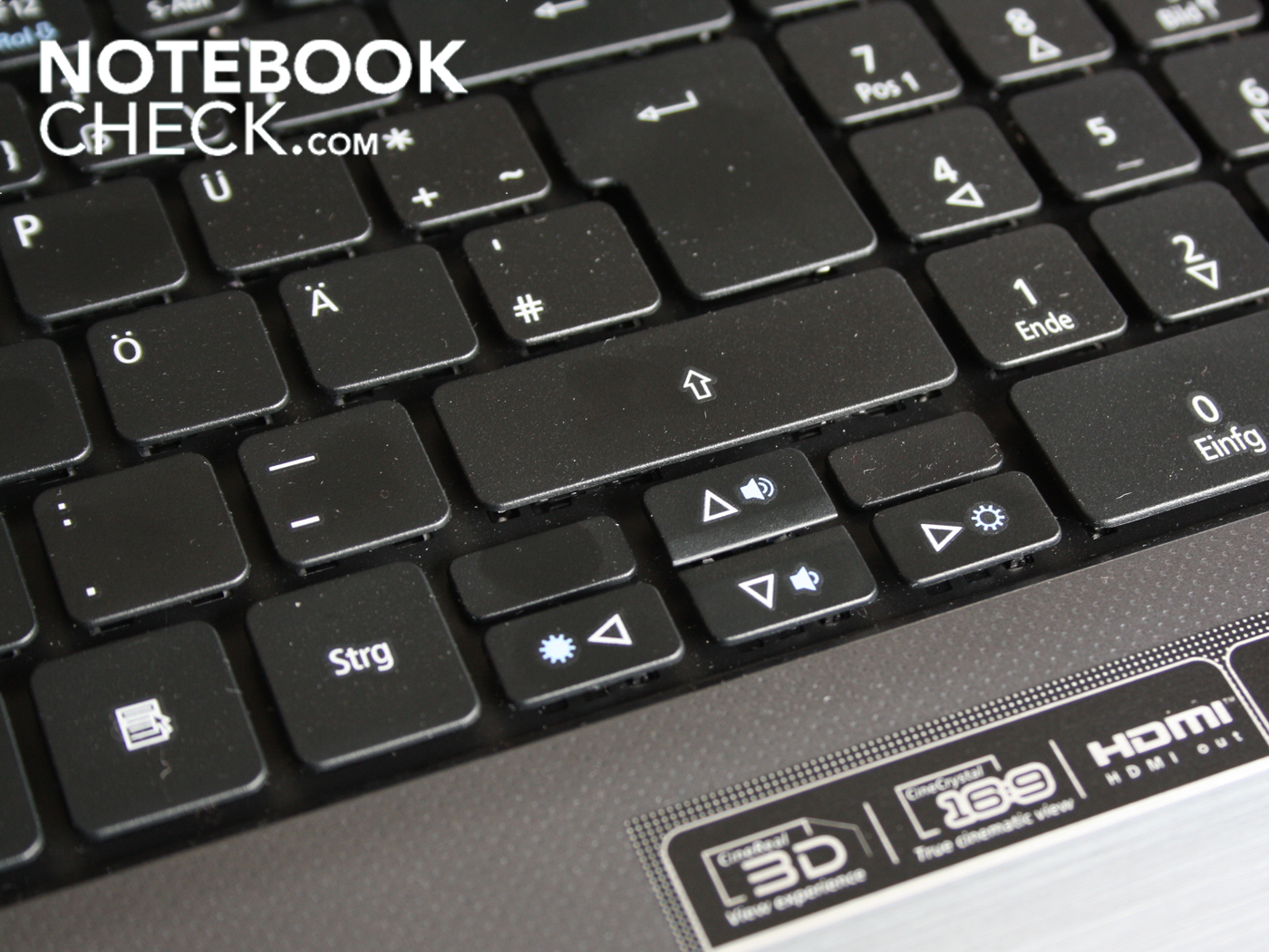 how to clean acer netbook keyboard