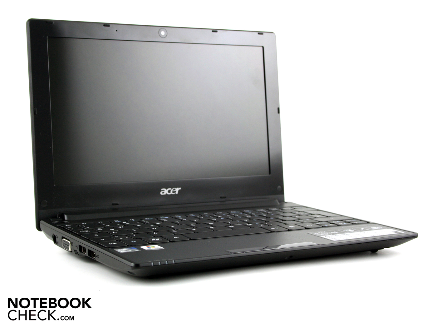 Review Acer Aspire One D255 Netbook (N550) - NotebookCheck.net Reviews