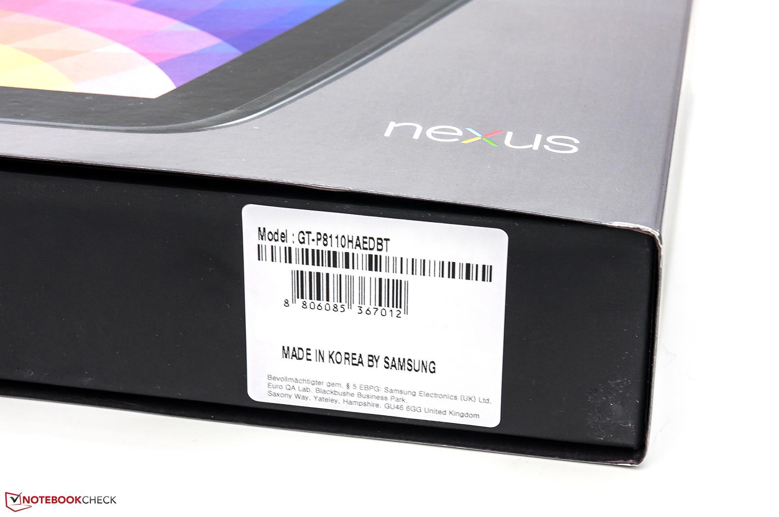 Review Google Nexus 10 Tablet