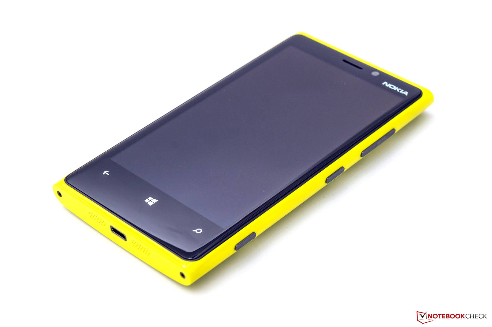 Review Nokia Lumia 920 Smartphone Reviews Asha 310 Dual Sim Resmi White Solid Poly Carbonate Chassis In Yellow