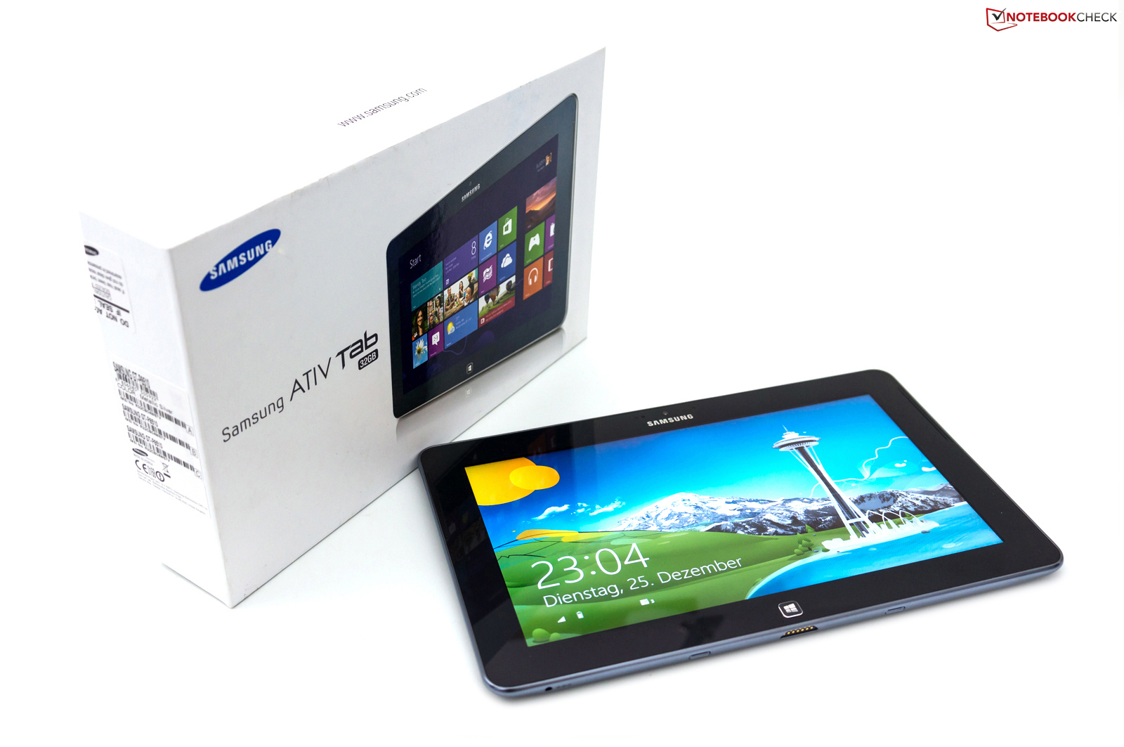 Review Samsung ATIV Tab GT-P8510 Tablet - Notebookcheck