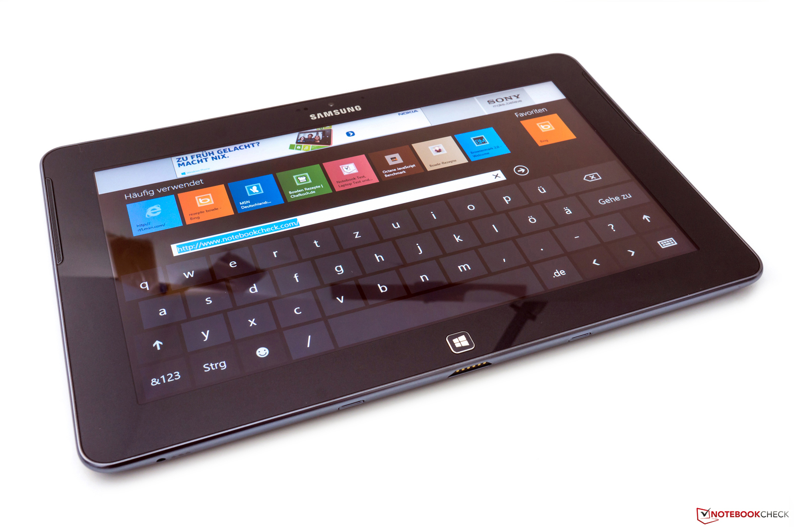 Samsung ATIV Tab Review | Engadget - YouTube