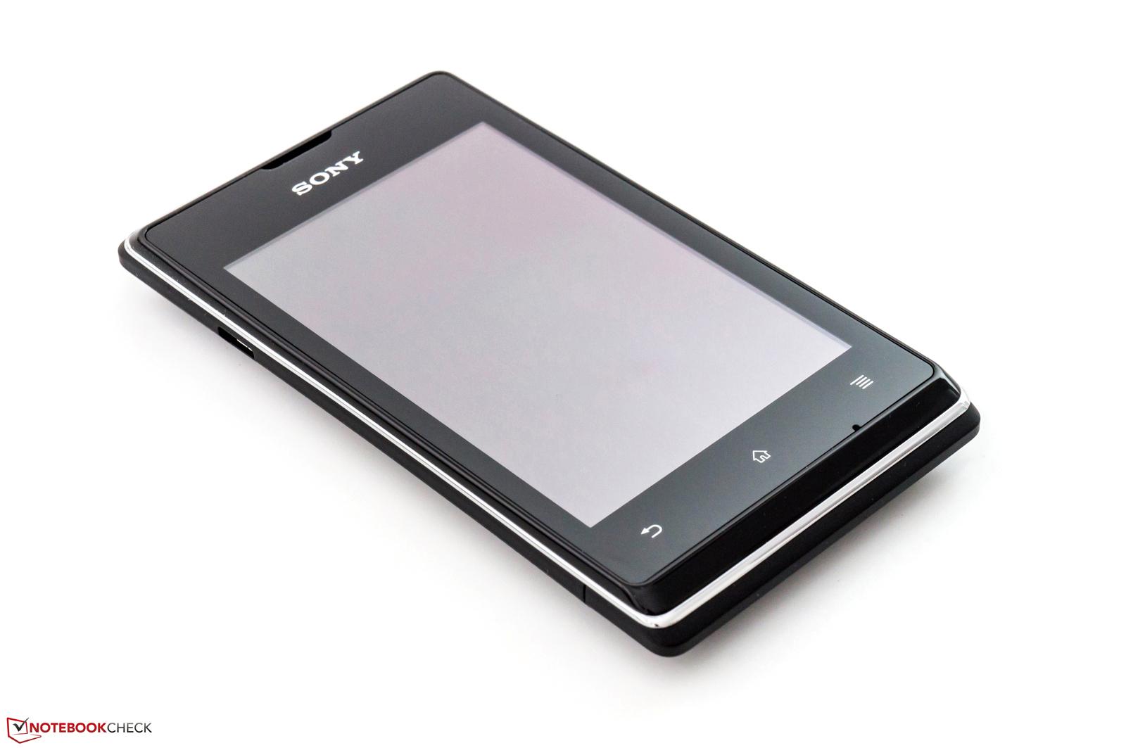 Review Sony Xperia E Dual Smartphone - NotebookCheck.net Reviews