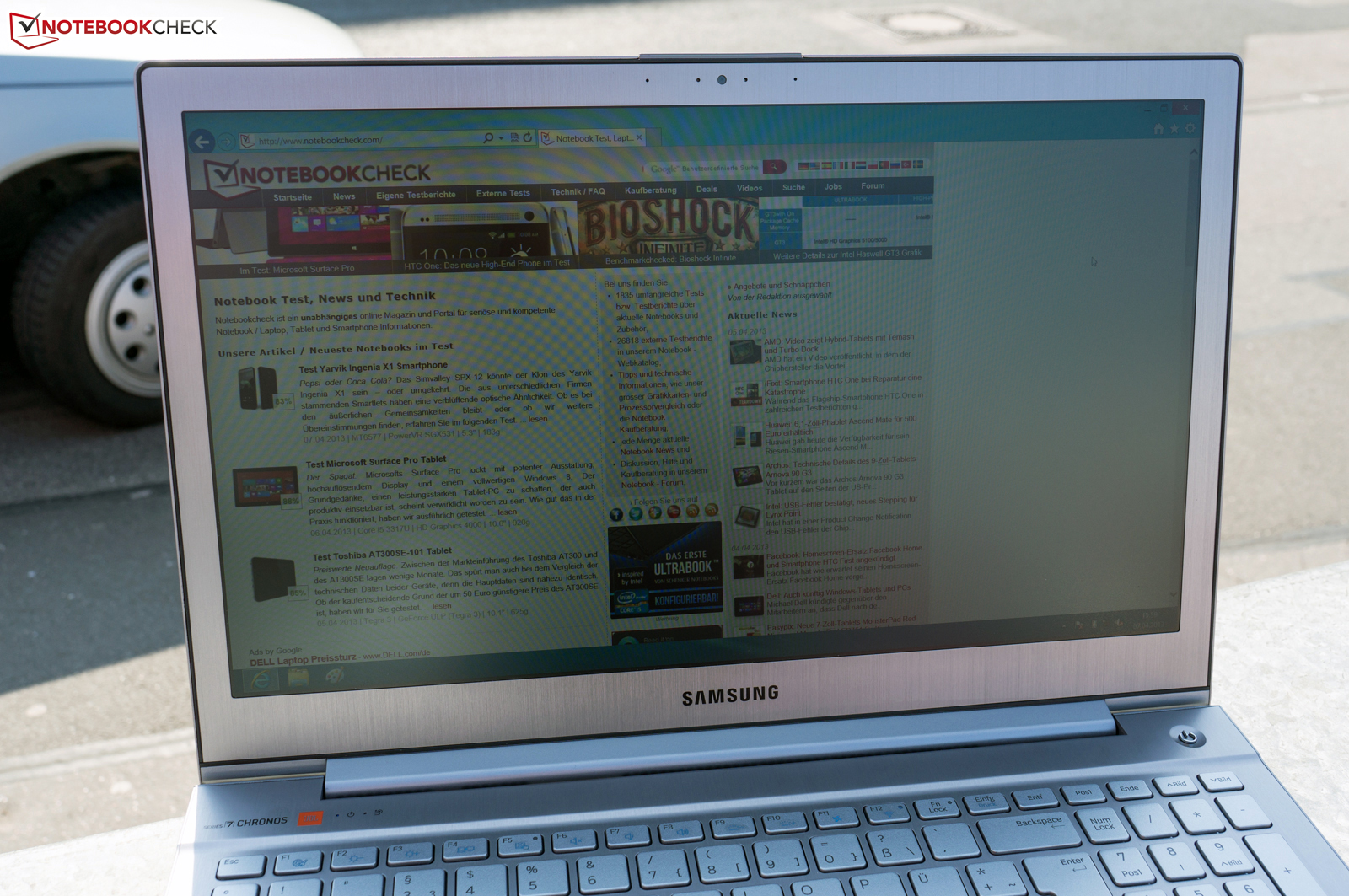 Notebook samsung jbl -  The Settings This Is An Impressive Feat Only With The Sun Shining From Behind Or Another Strong Light Source Does The Screen Reach Its Limits
