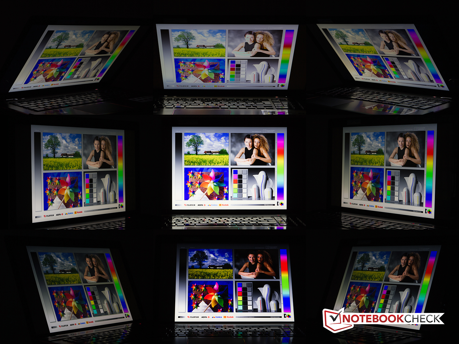 Viewing Angles Toshiba Qosmio X870 119