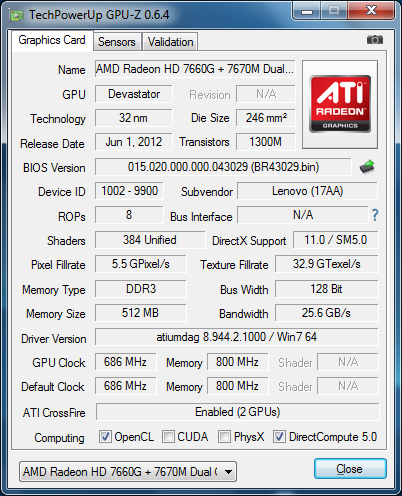 скачать драйвер amd radeon hd 7520g hd 7670m dual graphics