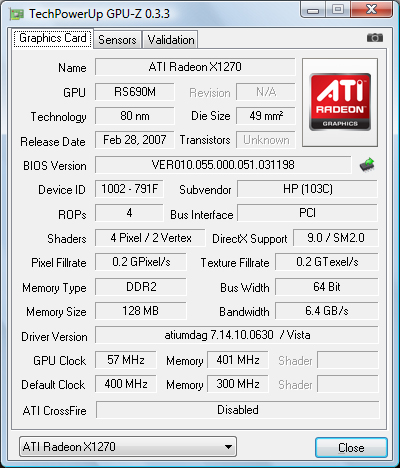 Ati Radeon X1270 Driver Xp Download