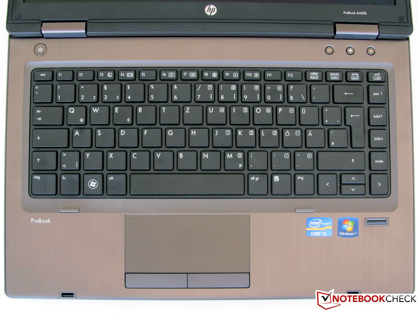 Hp probook 4530s ci3 500gb price in pakistan specifications - Keyboard