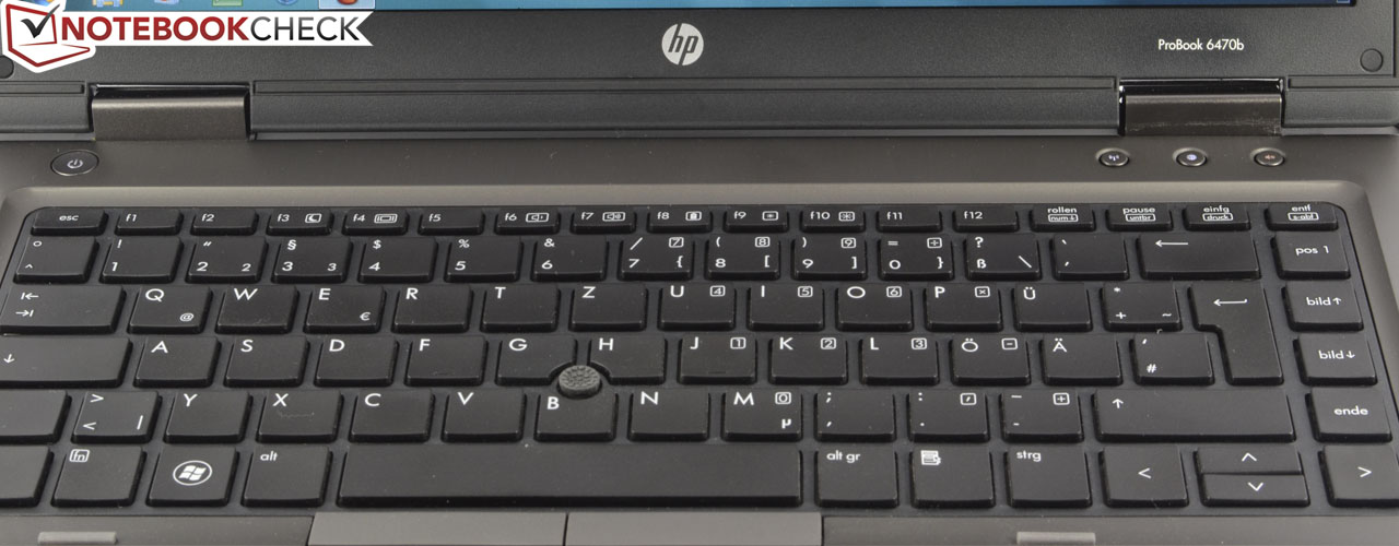 Review Hp Probook 6470b Notebook Notebookcheck Net Reviews