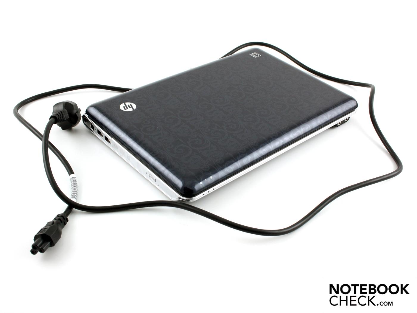 Review HP Pavilion dv3-2390eg Notebook - NotebookCheck.net ...