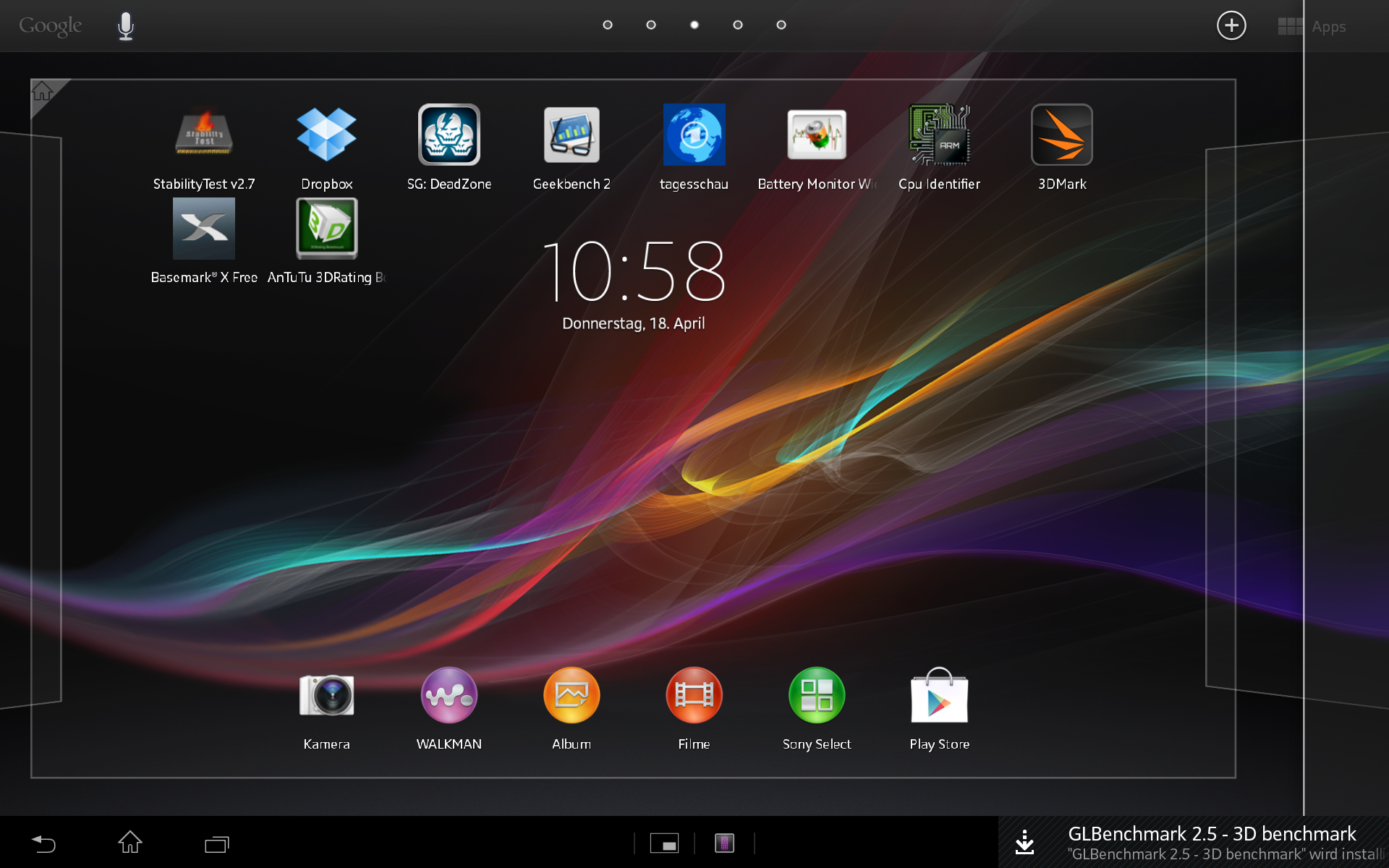 Review Sony Xperia Tablet Z Update Notebookcheck Net Reviews