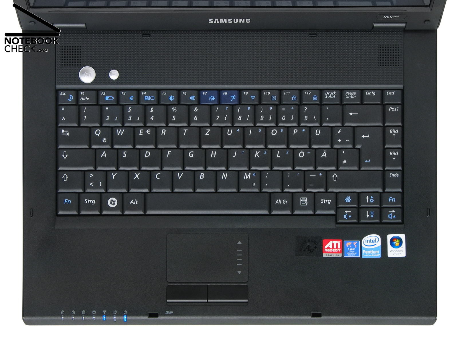 Review Samsung R60