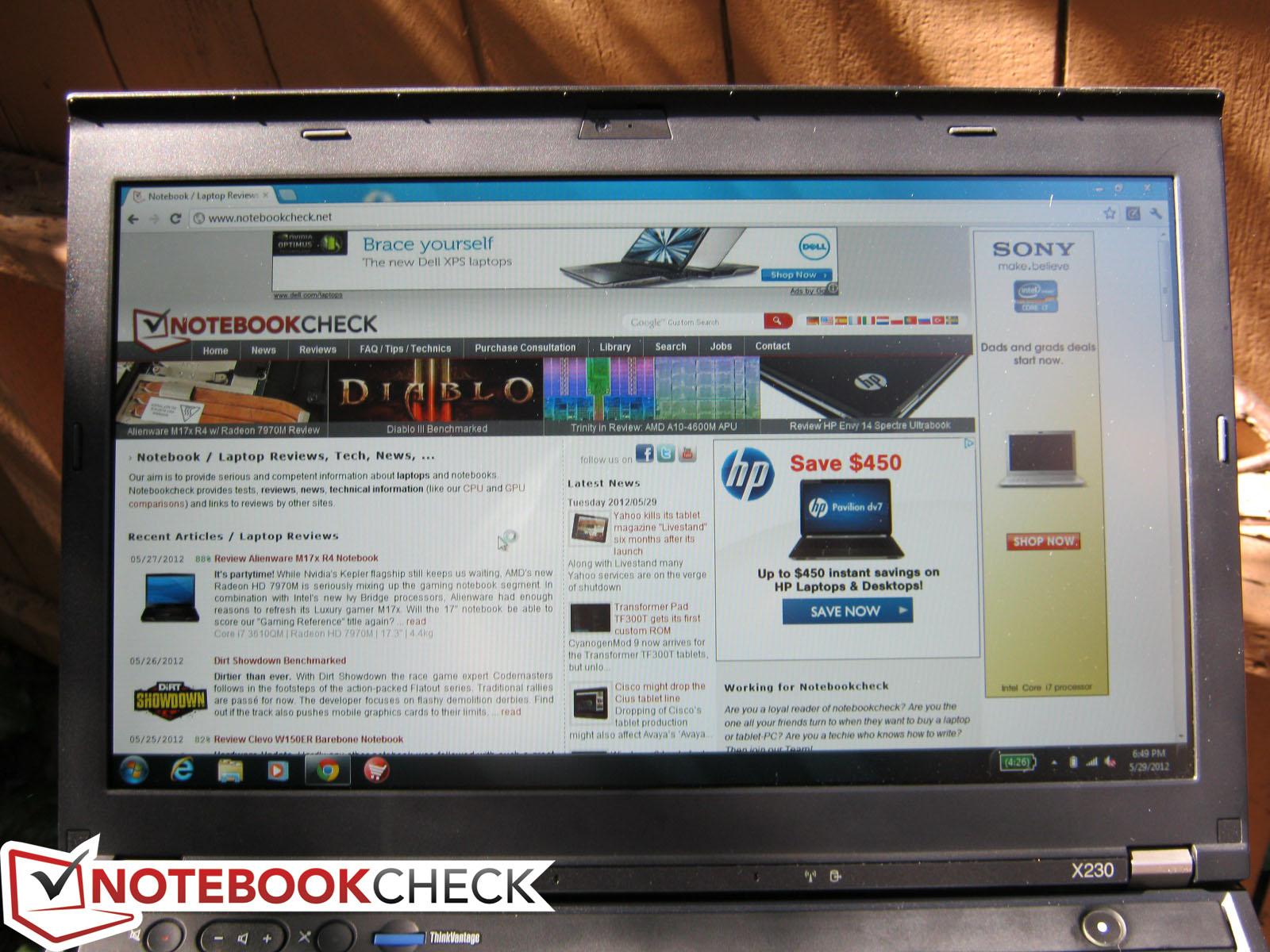 Customize Lenovo laptop X230 i5 Used