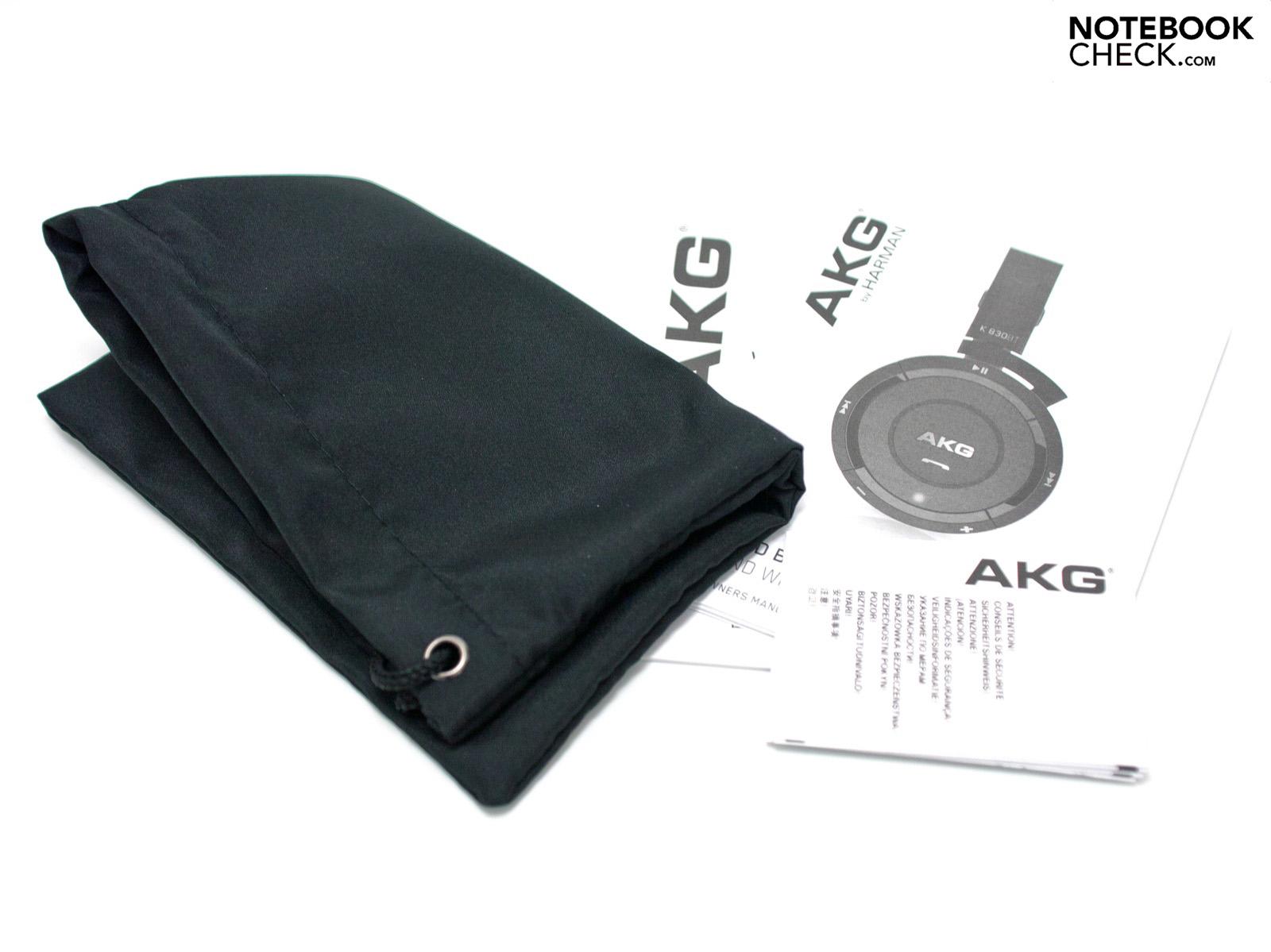 Review AKG K 830 BT Bluetooth Headset - NotebookCheck.net