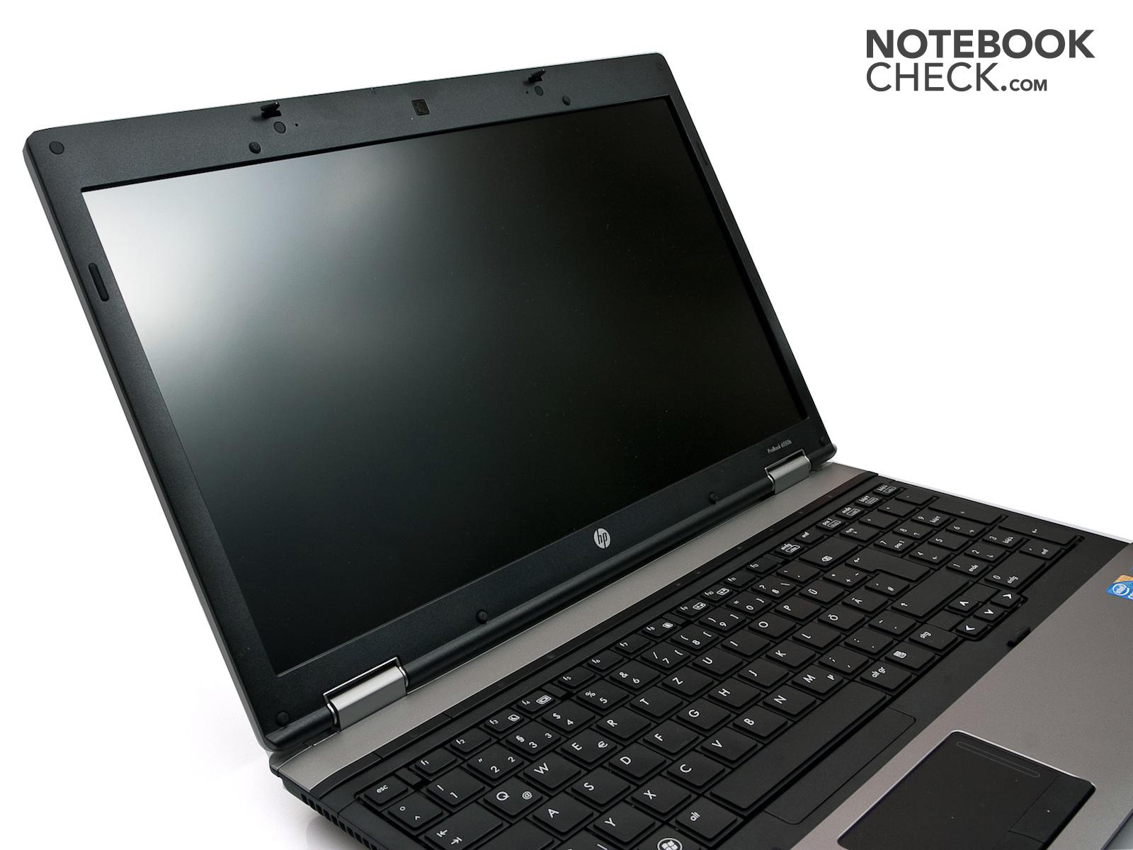 Review HP ProBook 6550b Notebook - NotebookCheck.net Reviews