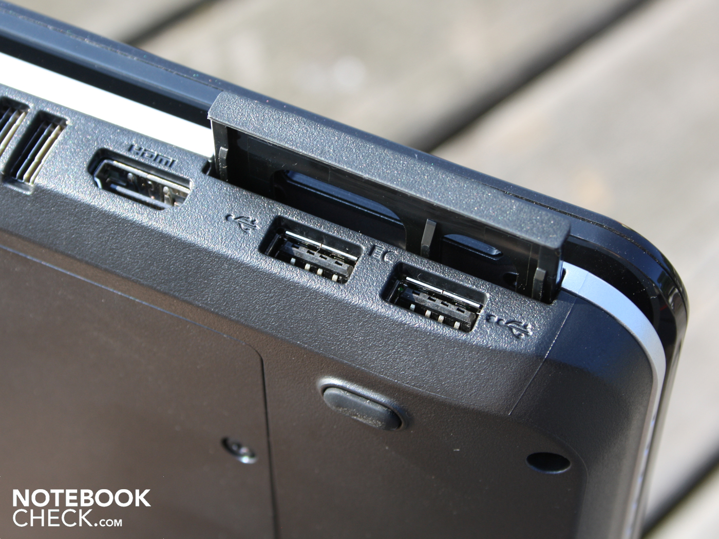 Expansion slot notebook