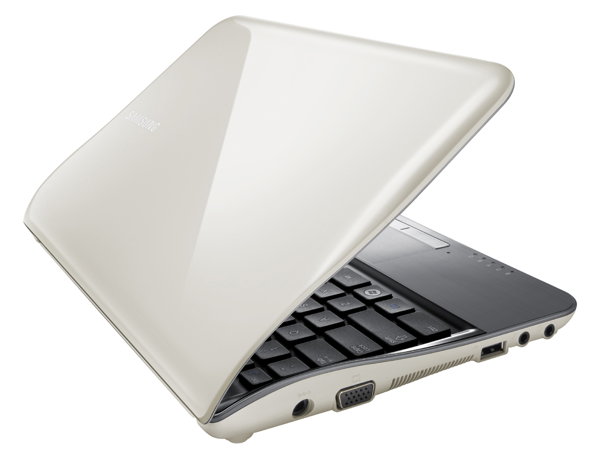 Notebook samsung 10 inch - The Samsung Nf210 Is The More Mobile Counterpart Of The Nf310 But With A Worse Screen The Case Is Impressive With Its Undulating Shark Design