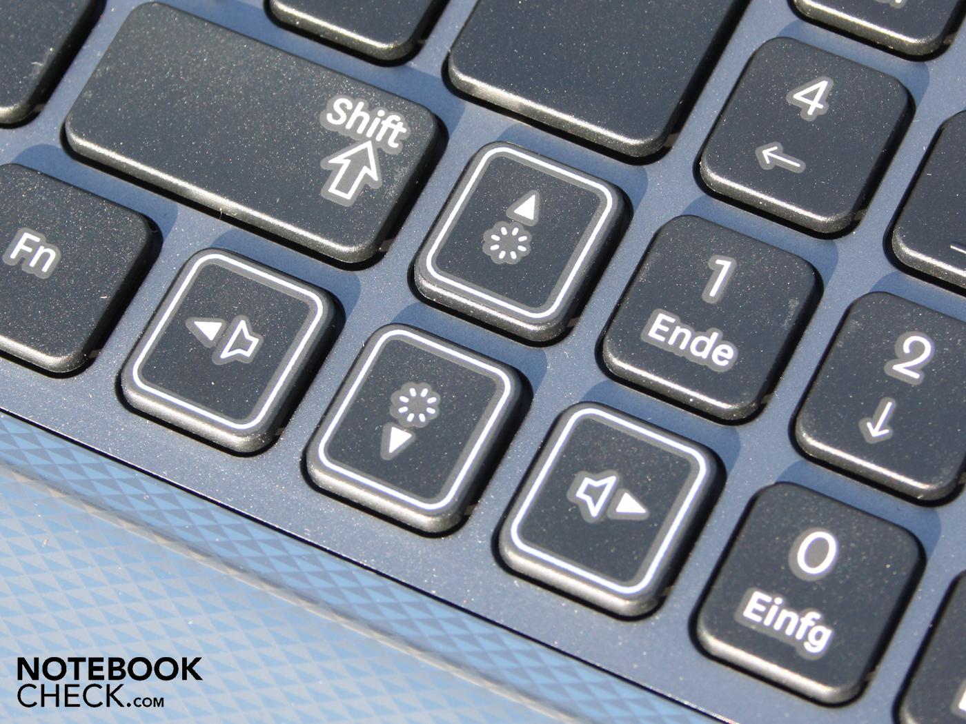 Notebook samsung lançamento 2013 - Marked Arrow Keys