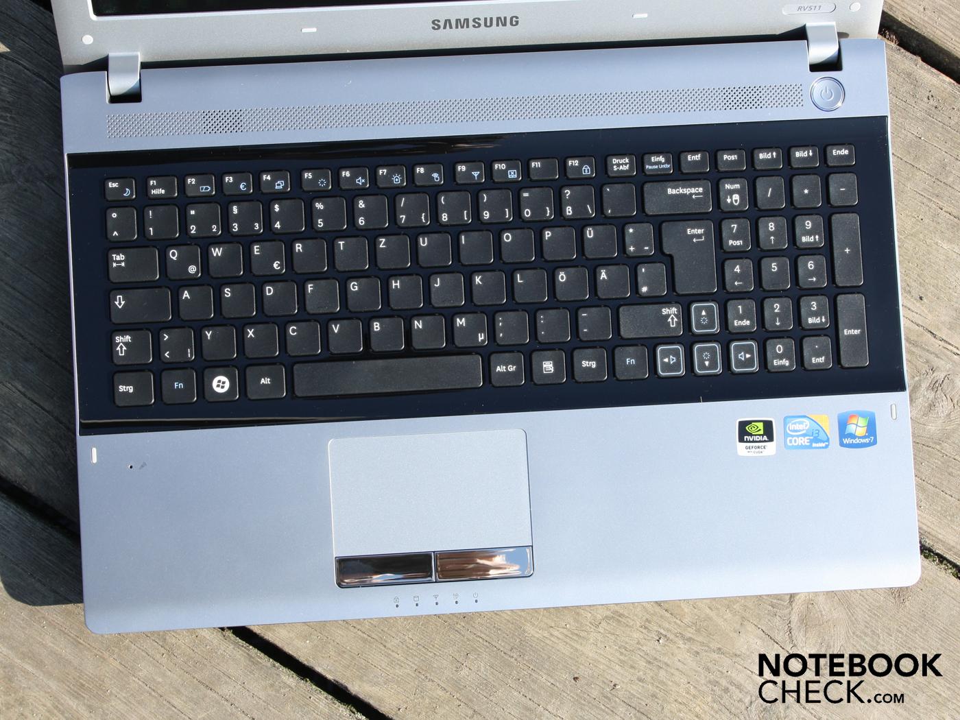 Notebook samsung drivers rv415 - Keyboard