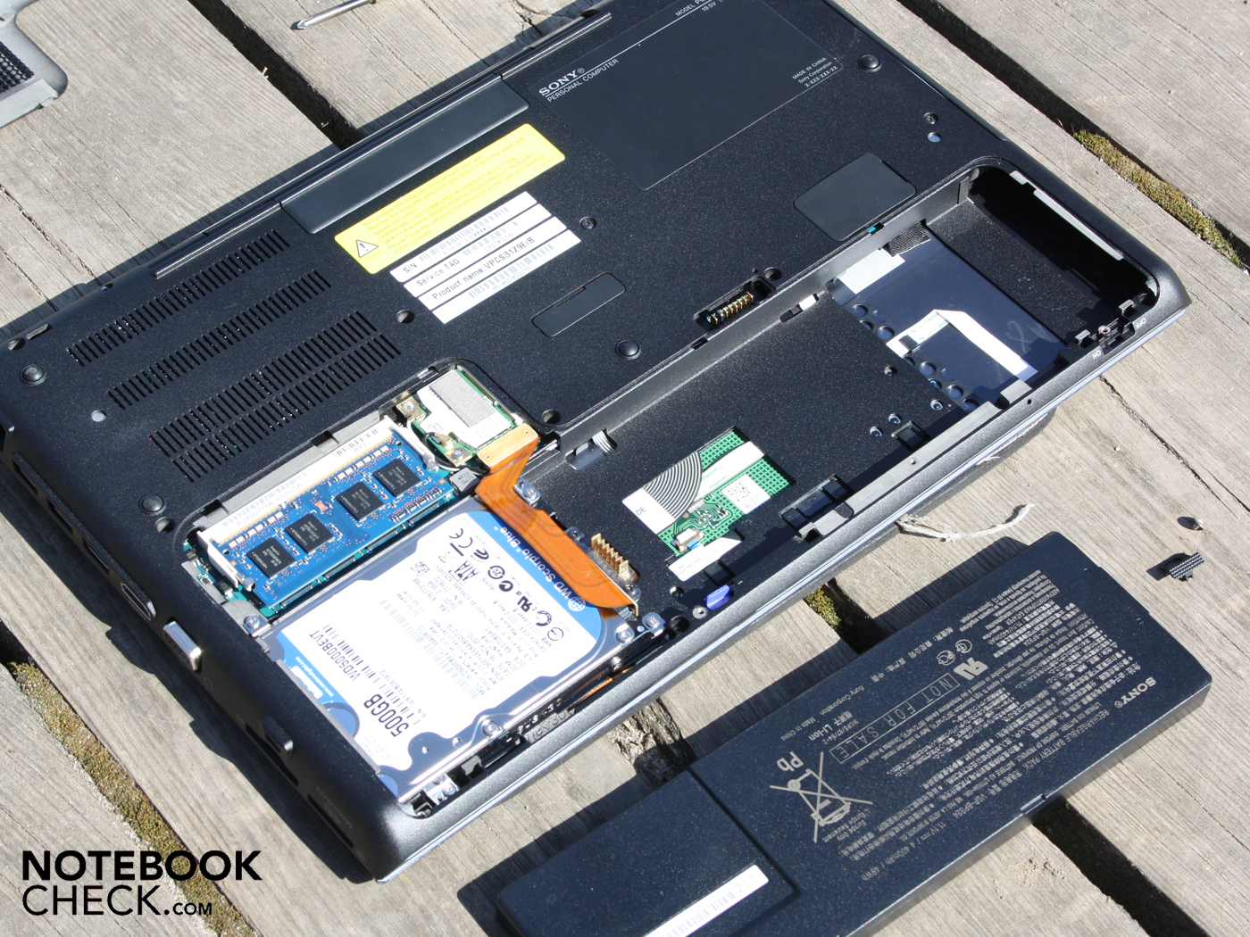 Sony vaio t13 ultrabook review the register - Built In But Removable Battery
