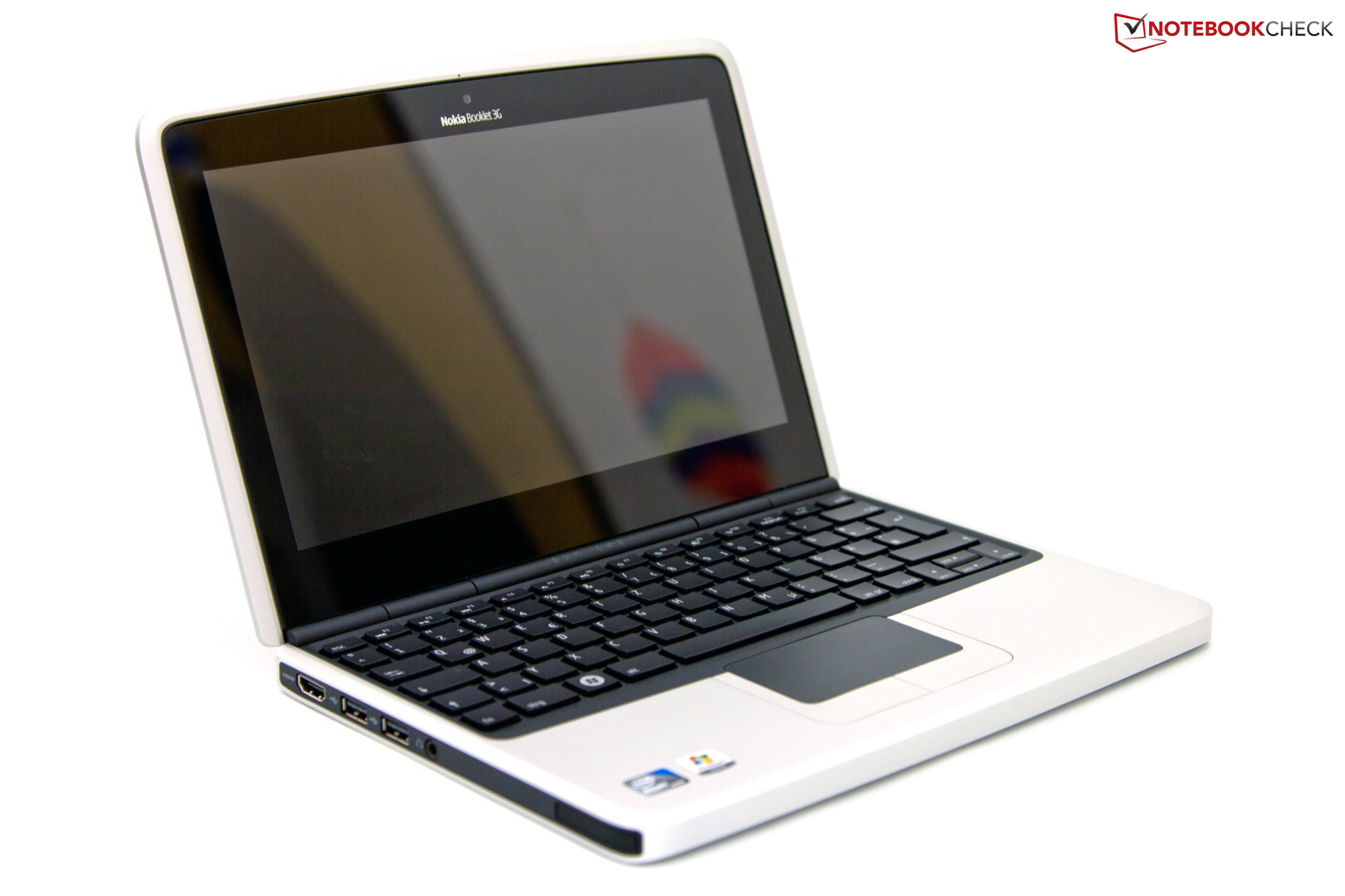 Review Nokia Booklet 3g Netbook Notebookcheck Net Reviews