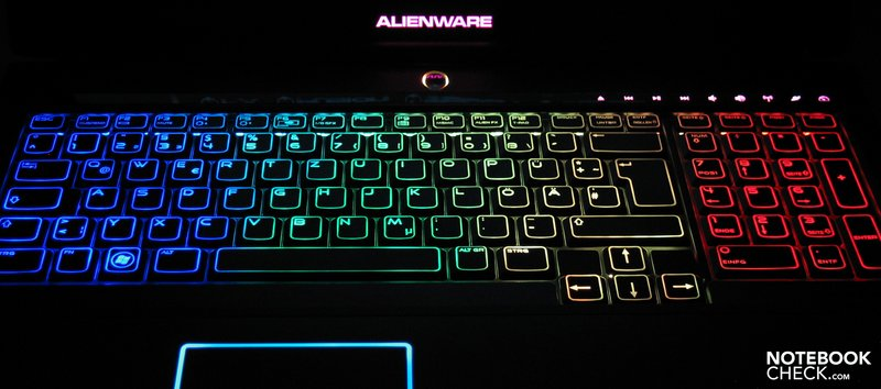 Review Alienware M17x Gaming Notebook Notebookcheck Net