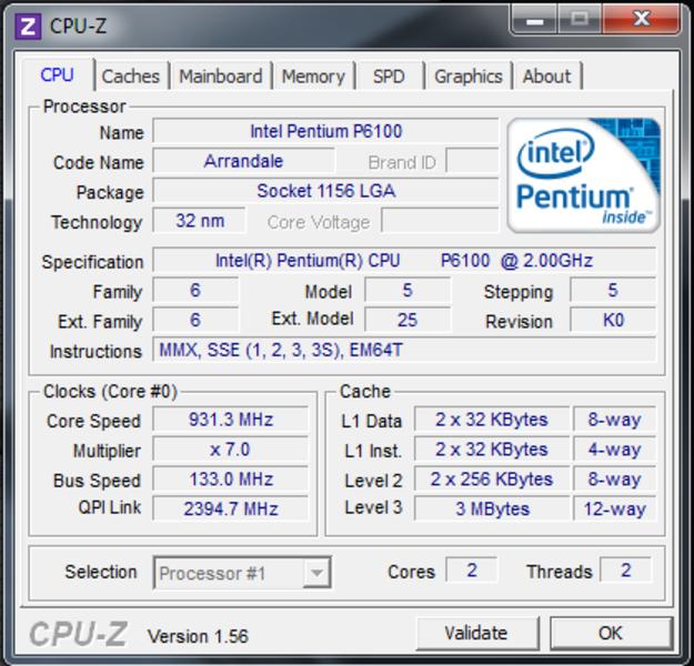 intel pentium p6100 drivers free download