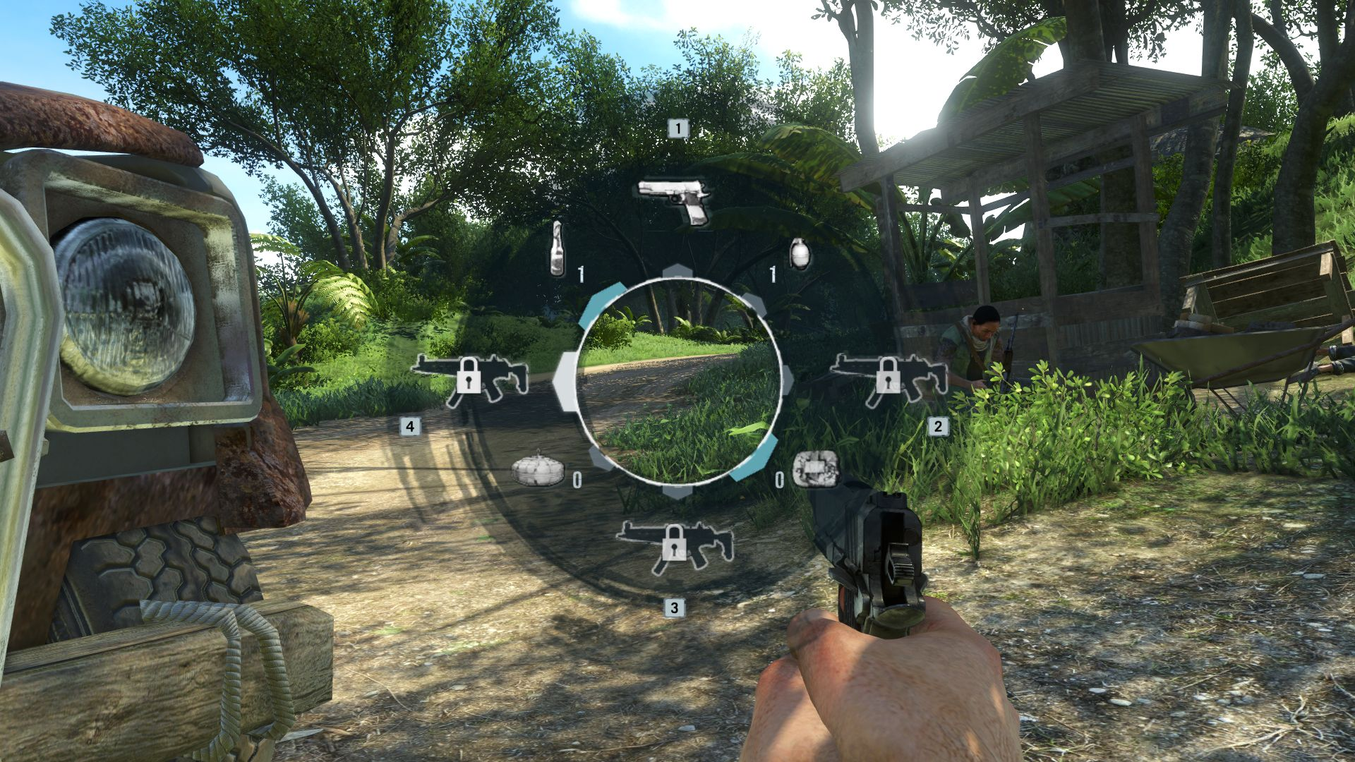 how to switch weapons in far cry 4 ps3