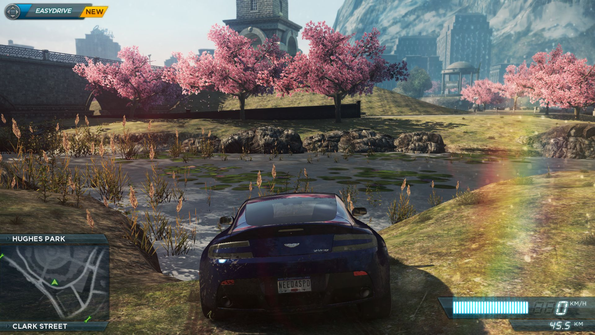 Review of the passage of NFS Most Wanted 2012