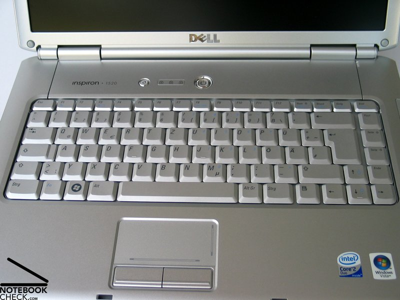 Review Dell Inspiron 1520 Notebook - NotebookCheck net Reviews