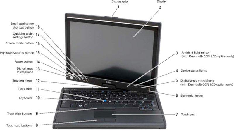 Laptop Part Label