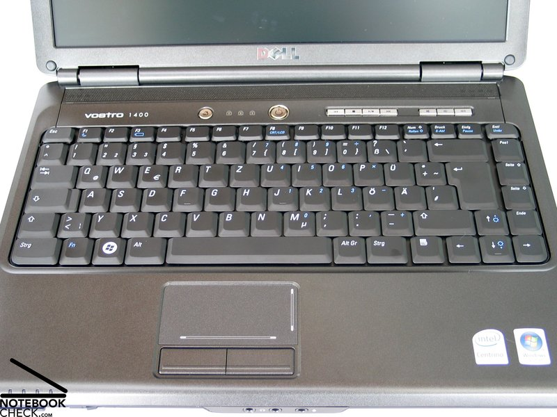 Review Dell Vostro 1400 Notebook Notebookcheck Net Reviews