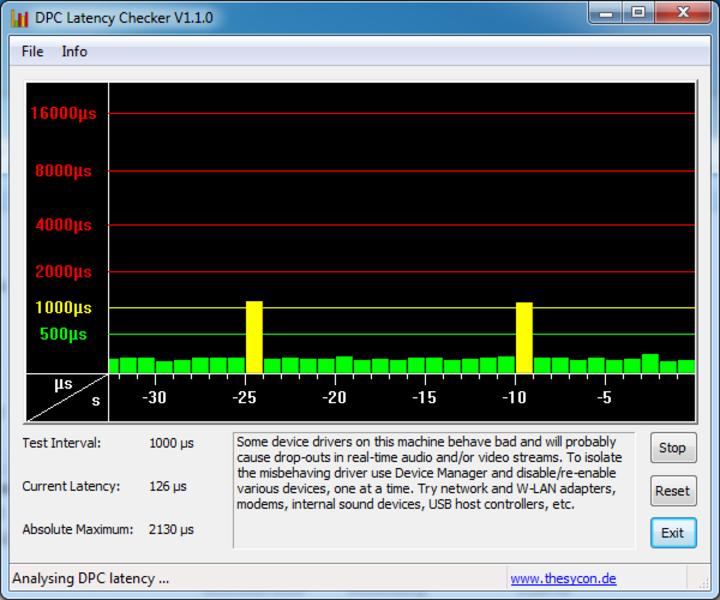Dpc latency checker mac os x 10.13