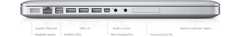 review apple macbook pro 17 notebook aluminium unibody. Black Bedroom Furniture Sets. Home Design Ideas