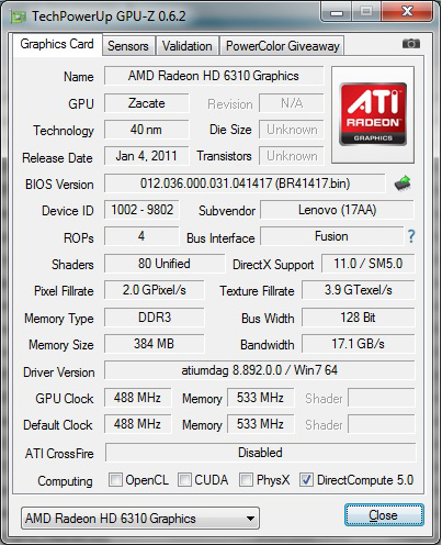 AMD E300 APU DRIVER FOR WINDOWS MAC