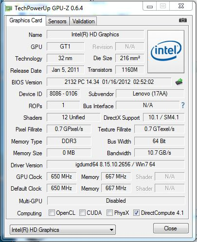 Review Lenovo IdeaPad G580 Notebook - NotebookCheck net Reviews