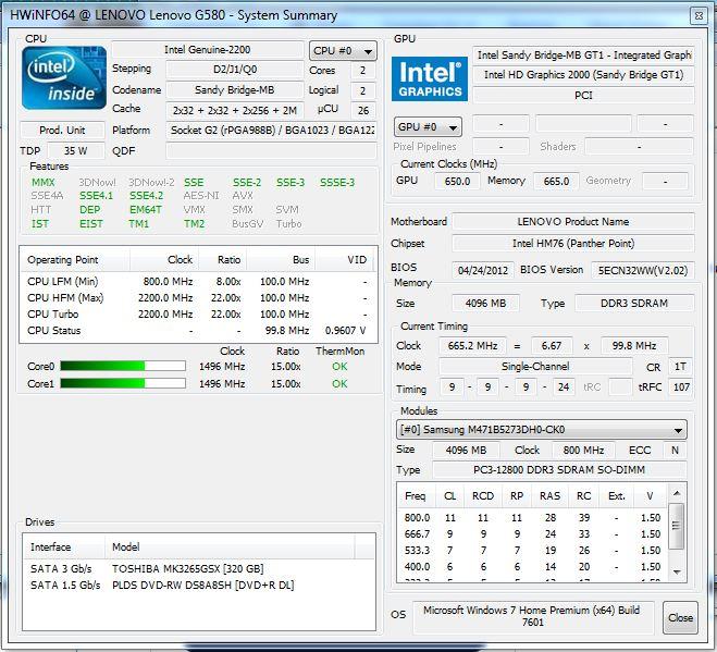lenovo g580 hdmi driver windows 7 download