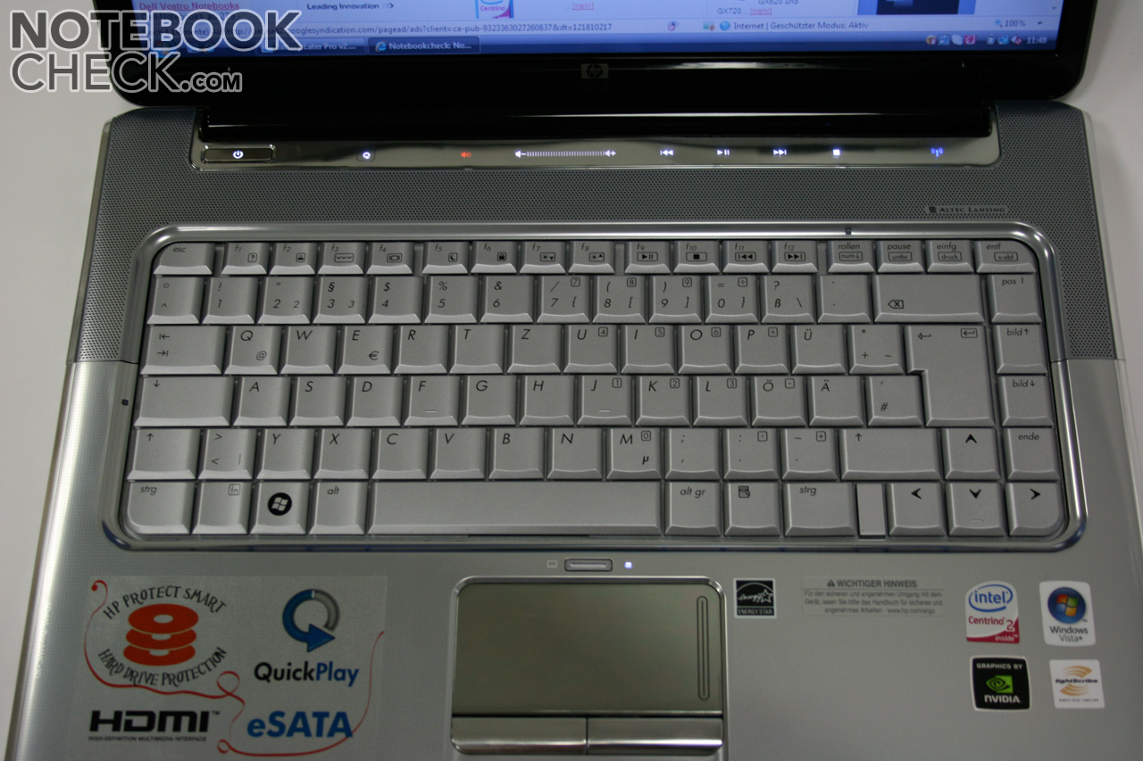 Short Review HP Pavilion dv5-1032eg Entertainment Notebook ...